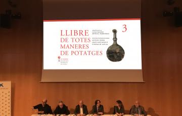 Presentem el Llibre de potatges amb Ferran Adrià
